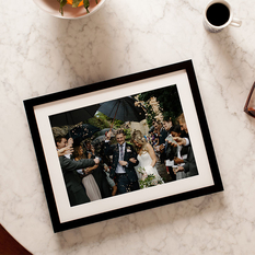 The best ways to frame wedding photos